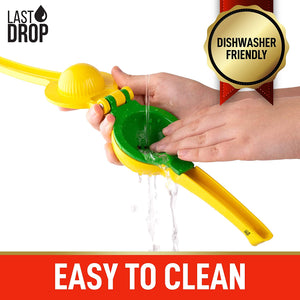 Last Drop Premium 2-in-1 Easy to Squeeze Lemon Lime Squeezer