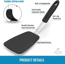 Load image into Gallery viewer, Zulay Flexible Silicone Spatula