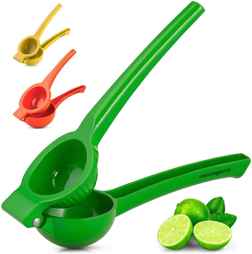 Hydration Nation Premium Handheld Single Bowl Citrus Lemon Squeezer
