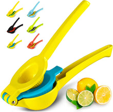 Load image into Gallery viewer, Yellow Lemon Lime Citrus Press