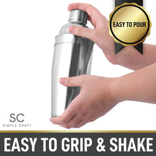 Load image into Gallery viewer, Simple Craft Premium Stainless Steel Cocktail Shaker