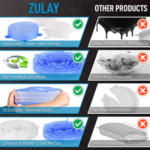Load image into Gallery viewer, Zulay Kitchen Reusable Silicone Stretch Lids (Set of 14)
