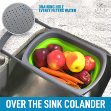 Load image into Gallery viewer, Collapsible Colander With Extendable Handles