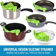 Load image into Gallery viewer, Universal design silicone strainer