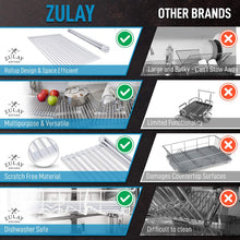 Load image into Gallery viewer, Multipurpose Roll Up Sink Drying Rack & Trivet (Medium) - Zulay Kitchen