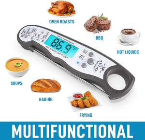 Instant Read Digital Meat Thermometer with Probe