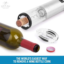 Load image into Gallery viewer, Zulay Electric Wine Bottle Opener With Charging Base and Foil Cutter