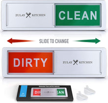 Load image into Gallery viewer, Dishwasher Clean Dirty Magnet Sign