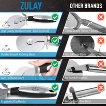 Load image into Gallery viewer, Food Grade Stainless Steel Pizza Cutter Wheel With Non Slip Ergonomic Handle