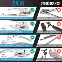 Load image into Gallery viewer, Zulay Kitchen Manual Can Opener With Smooth Comfortable Grip Handle