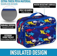 Load image into Gallery viewer, Insulated Lunch Bag With Spacious Compartment & Built-In Handle