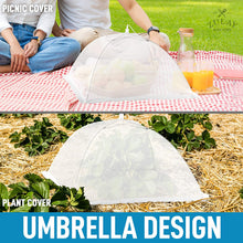 Load image into Gallery viewer, Pop Up Mesh Food Cover (6 pack) - Collapsible Umbrella Design Mesh Food Covers For Outside & Indoor Use
