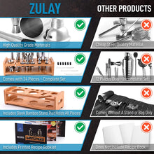 Load image into Gallery viewer, Zulay 24-Piece Stainless Steel Bartender Set Kit