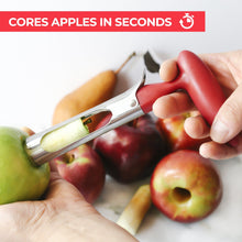 Load image into Gallery viewer, Premium Apple Corer - Easy to Use and Durable Stainless Steel - Zulay Kitchen