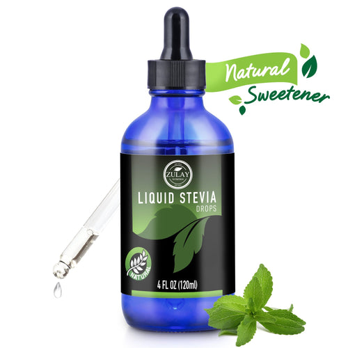 Liquid Stevia Drops - Zulay Kitchen