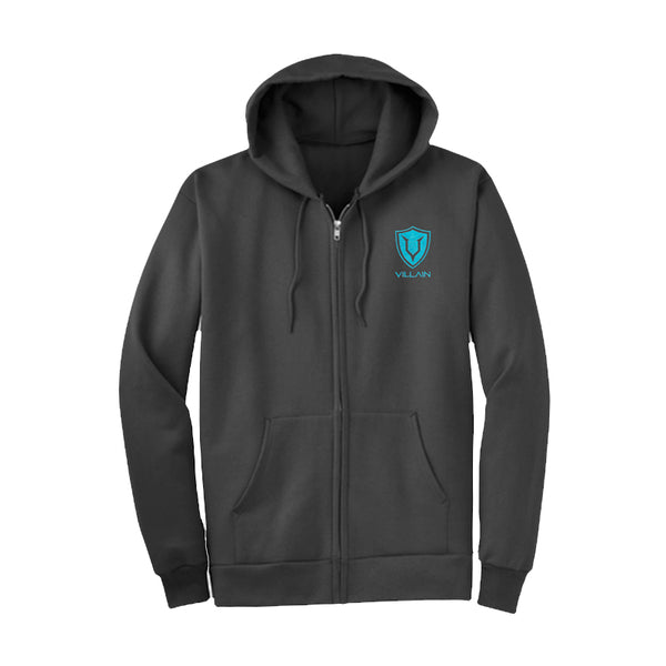 VILLAIN - CLOAK - FULL ZIP HOODIE