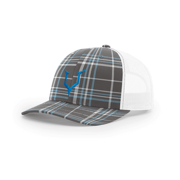 Headcase - Plaid White Trucker Snapback