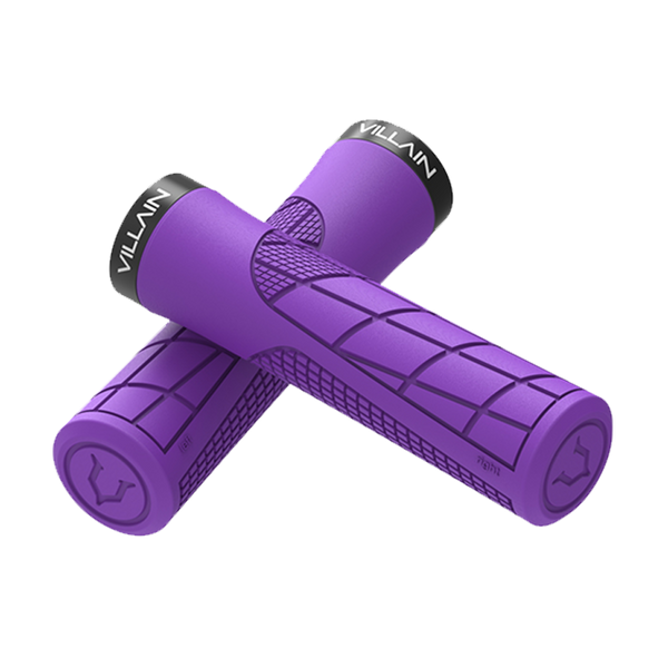 Villain Arrest 1st Offense MTB Grips - Purple