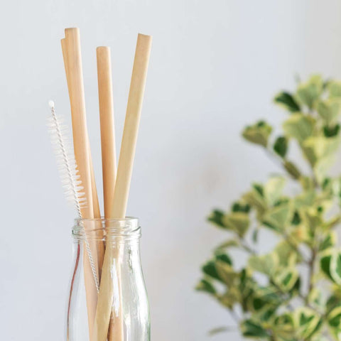StrawSave™ Reusable Bamboo Straws (Wholesale)