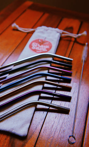 StrawSave™ Reusable Metal Straws (Wholesale)