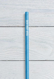 custom logo on paper straw