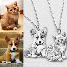 Load image into Gallery viewer, Personalized Engraved Photo Necklace