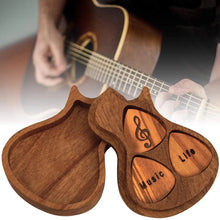 Load image into Gallery viewer, Engraved Wood Guitar Picks