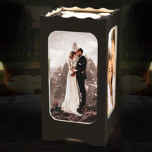 Load image into Gallery viewer, Custom Ambient Night Lamp with Four Pictures