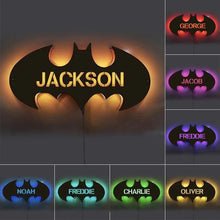 Load image into Gallery viewer, Personalized Wood Bat LED Light 12-Colors