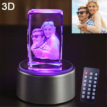 Load image into Gallery viewer, 3D Crystal lamp
