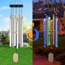 Load image into Gallery viewer, Solar Music Wind Chimes Light