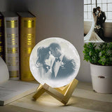 Customized Moon 3D Lamp
