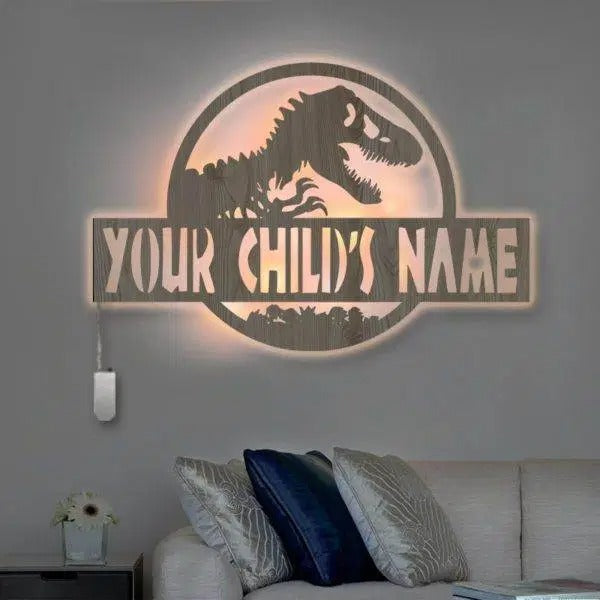 Personalized Wall Decor Lamp