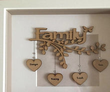 Load image into Gallery viewer, Personalized Family Tree With Frame