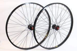 "Wheelset - Technique Hub & Sun Rim (26"") Colored Spokes"