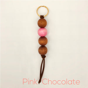 Pink Chocolate Key Chain
