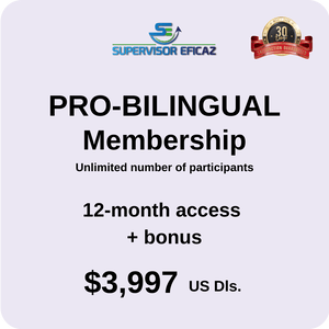 12 MONTHS ACCESS  - In Spanish with subtitles in English