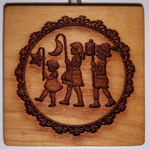 October Mold of the Month: Children Walking with Lanterns (Laternelaufen)