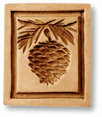 Springerle Emporium Pinecone Springerle Cookie Mold by Anis-Paradies