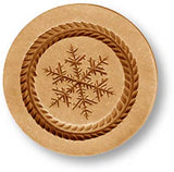 1027 finely detailed snowflake springerle emporium cookie mold anis paradies