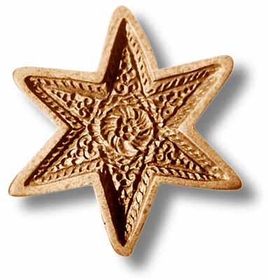 Star Circa 1680 Springerle Cookie Mold by Anis-Paradies