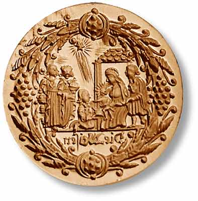 1056 Wise Men Three Kings Springerle Emporium Cookie Mold Anis Paradies