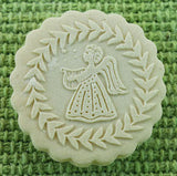 Angel with Lyre Harp Springerle Emporium Cookie mold