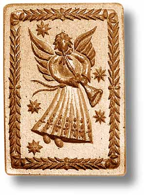 1147 Angel with Trumpet Anis Paradies Springerle Emporium Cookie Mold