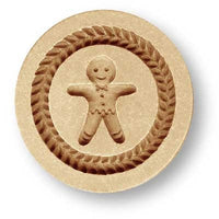 Gingerbread Boy Cookie Springerle Cookie Mold by Anis-Paradies Springerle Emporium