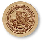 1235 Santa with Gifts Springerle Emporium Cookie Mold Anis Paradies