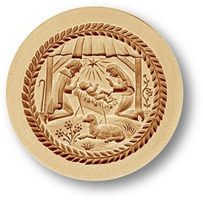 Christmas Crèche: Nativity Scene Springerle Cookie Mold by Anis-Paradies