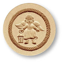 1248 Angel with Lantern Springerle Emporium Cookie Mold Anis Paradies