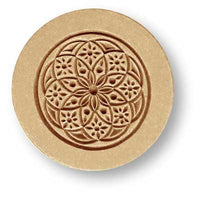 Bloom Ornament Springerle Cookie Mold by Anis-Paradies