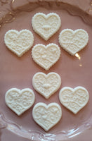 Multi-Image: Four Different Hearts Springerle Cookie Mold